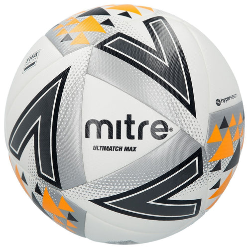 Mitre Ultimatch Max Hyperseam Football White