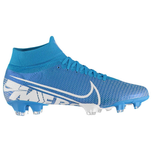 Nike Mercurial Superfly Pro DF FG Football Boots Mens Blue /White
