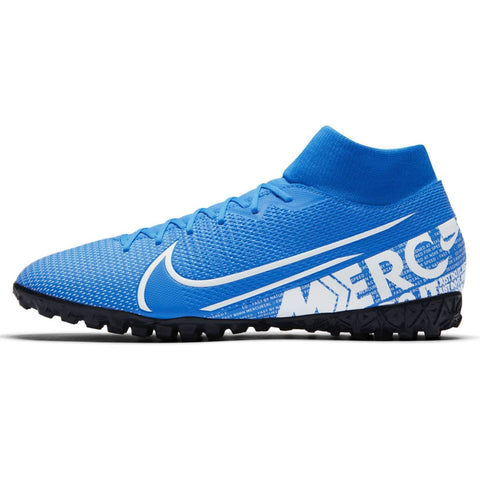 Nike Mercurial Superfly Academy DF Astro Turf Football Boots Mens Blue /White