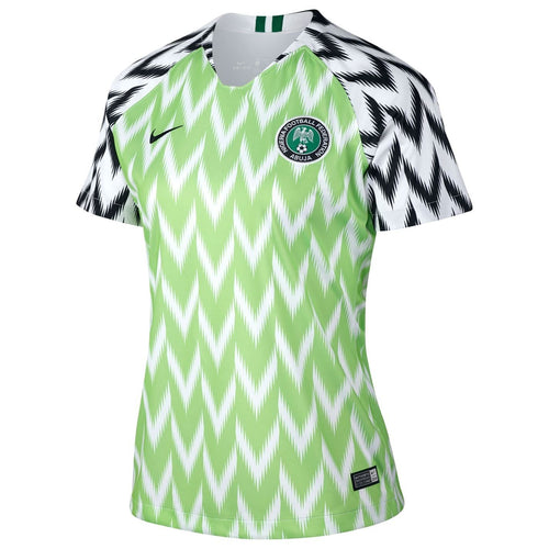 Nike Nigeria World Cup 2019 Home Shirt Womens Green