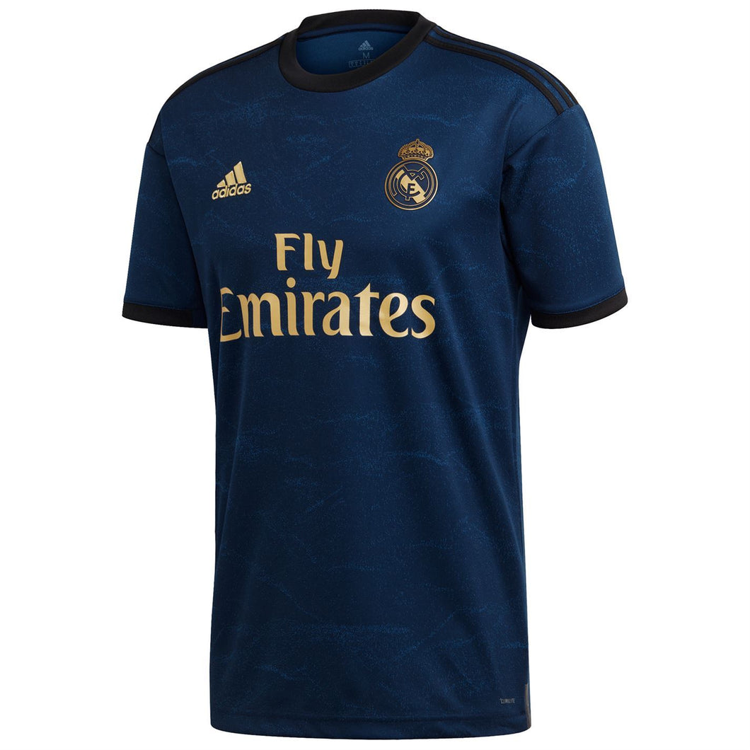 adidas Real Madrid Away Shirt Mens Night Indigo