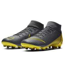 Nike Mercurial Superfly Academy DF FG Football Boots Mens Grey/Yellow