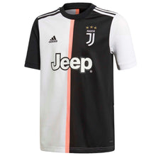 adidas Juventus Ramsey Home Shirt 2019 20 Juniors Black/White