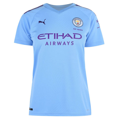 Puma Manchester City Home Shirt 2019 2020 Womens Blue