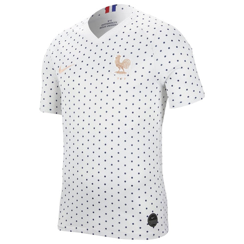Nike France Womens World Cup 2019 Away Shirt Womens White/Blue