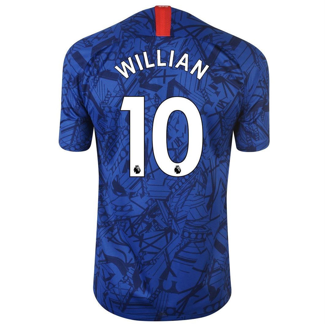 Nike Chelsea Willian Home Shirt 2019 20 Mens Blue