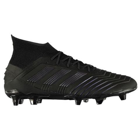 adidas Predator 19.1 FG Football Boots Mens Black