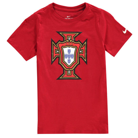 Nike Kids Football T-shirt Portugal