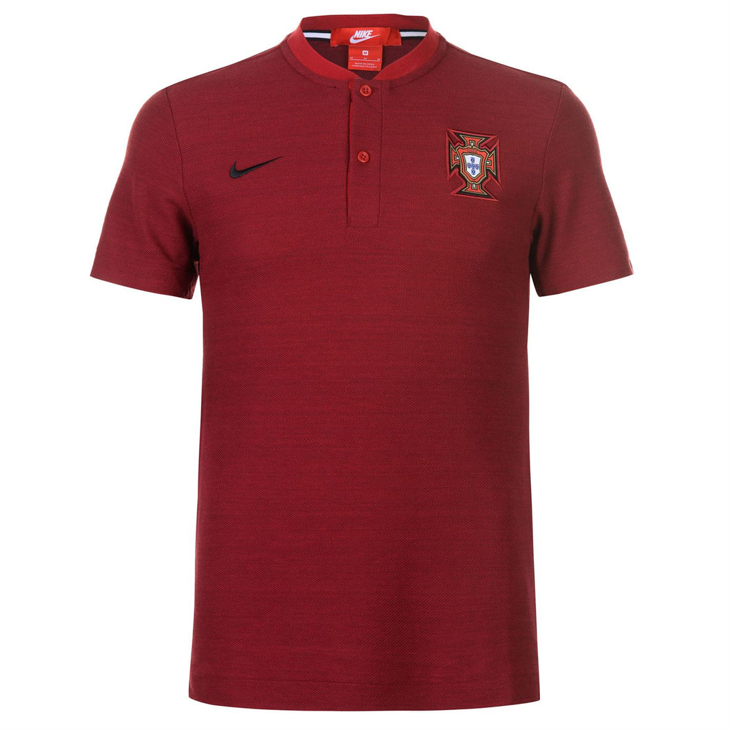 Nike Mens Football Polo Shirt Portugal