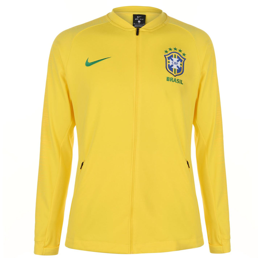 Nike Mens Football Tracksuit Jacket Brazil