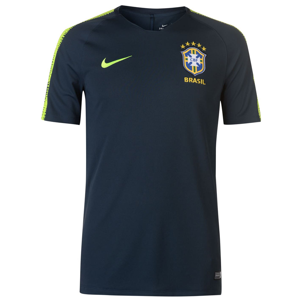 Nike Mens Football Shirt Brazil