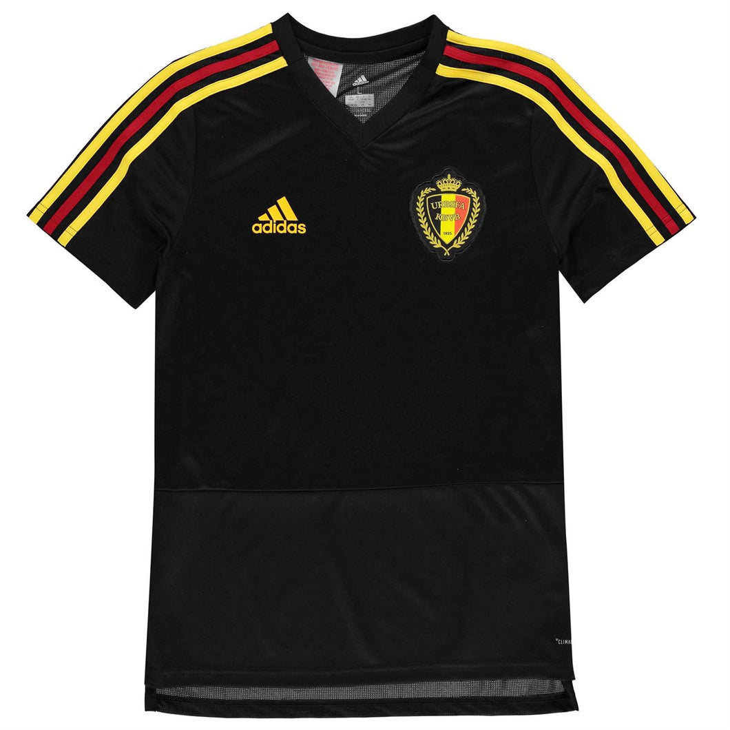adidas Kids Football Shirt Belgium