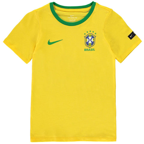 Nike Kids Football T-shirt Brazil
