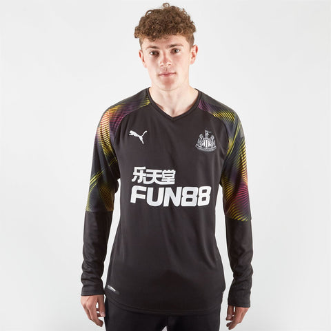 Puma Newcastle United Goalkeeper Shirt 2019 20 Mens Black