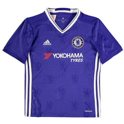 Adidas Chelsea FC Home Jersey 2016 2017 Juniors Royal