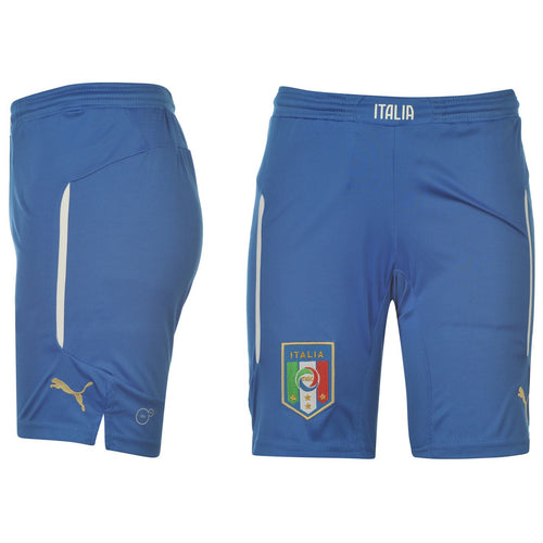 Puma Italy Change Shorts Blue Juniors