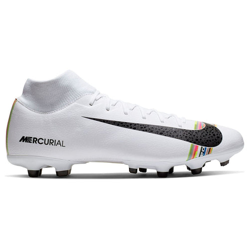Nike Mercurial Superfly 6 Academy LVL UP MG Football Boots Mens White/Black
