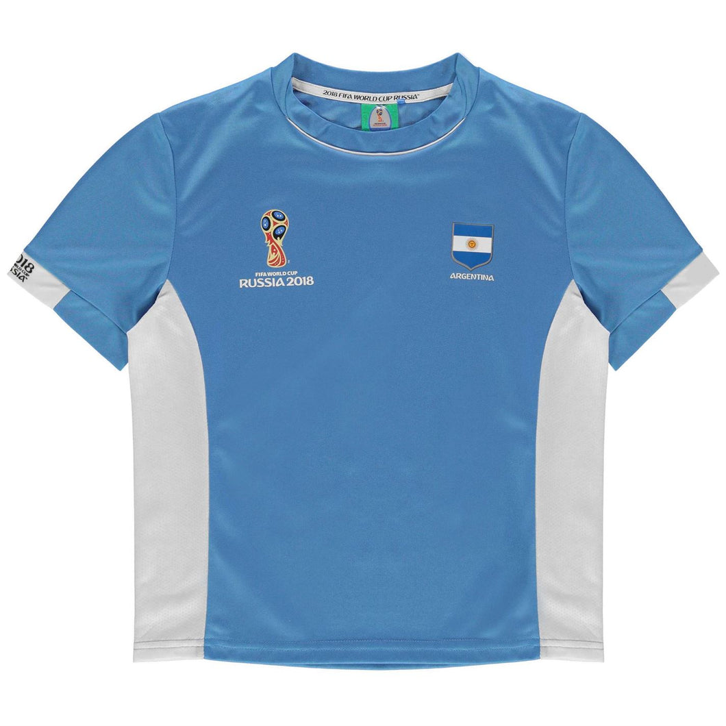 Kids Football T-shirt Argentina