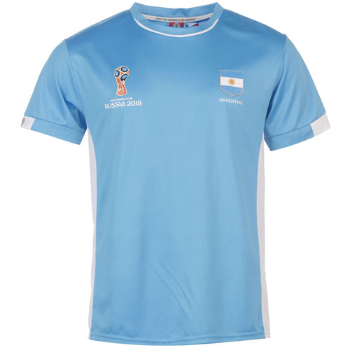 Mens Football T-shirt Argentina