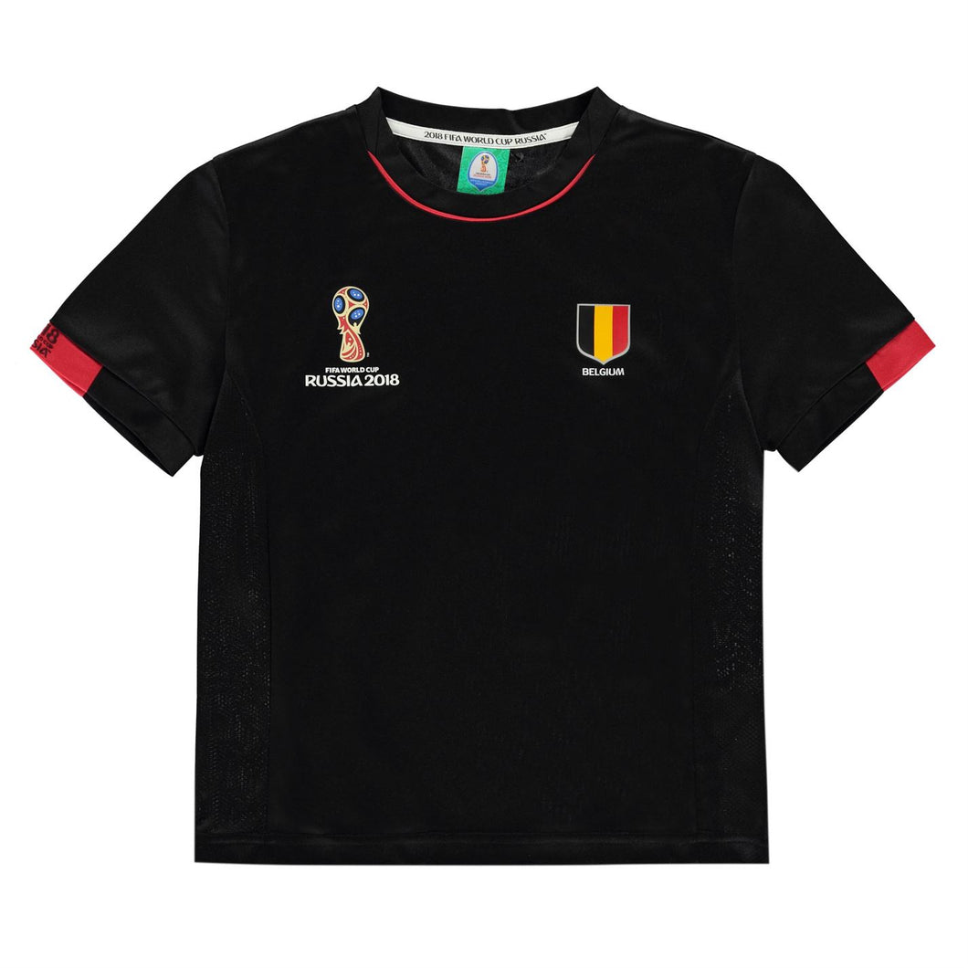 Kids Football T-shirt Belgium
