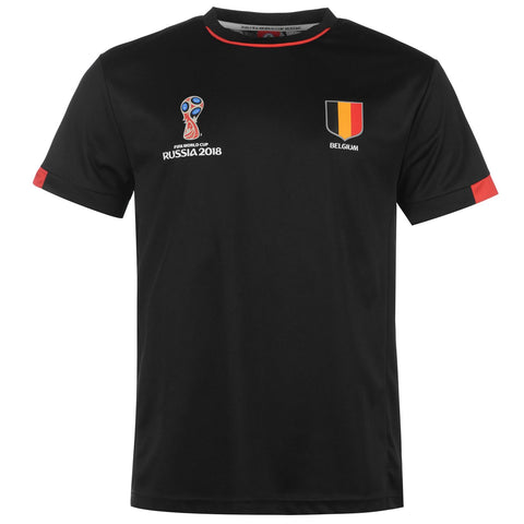 Mens Football T-shirt Belgium