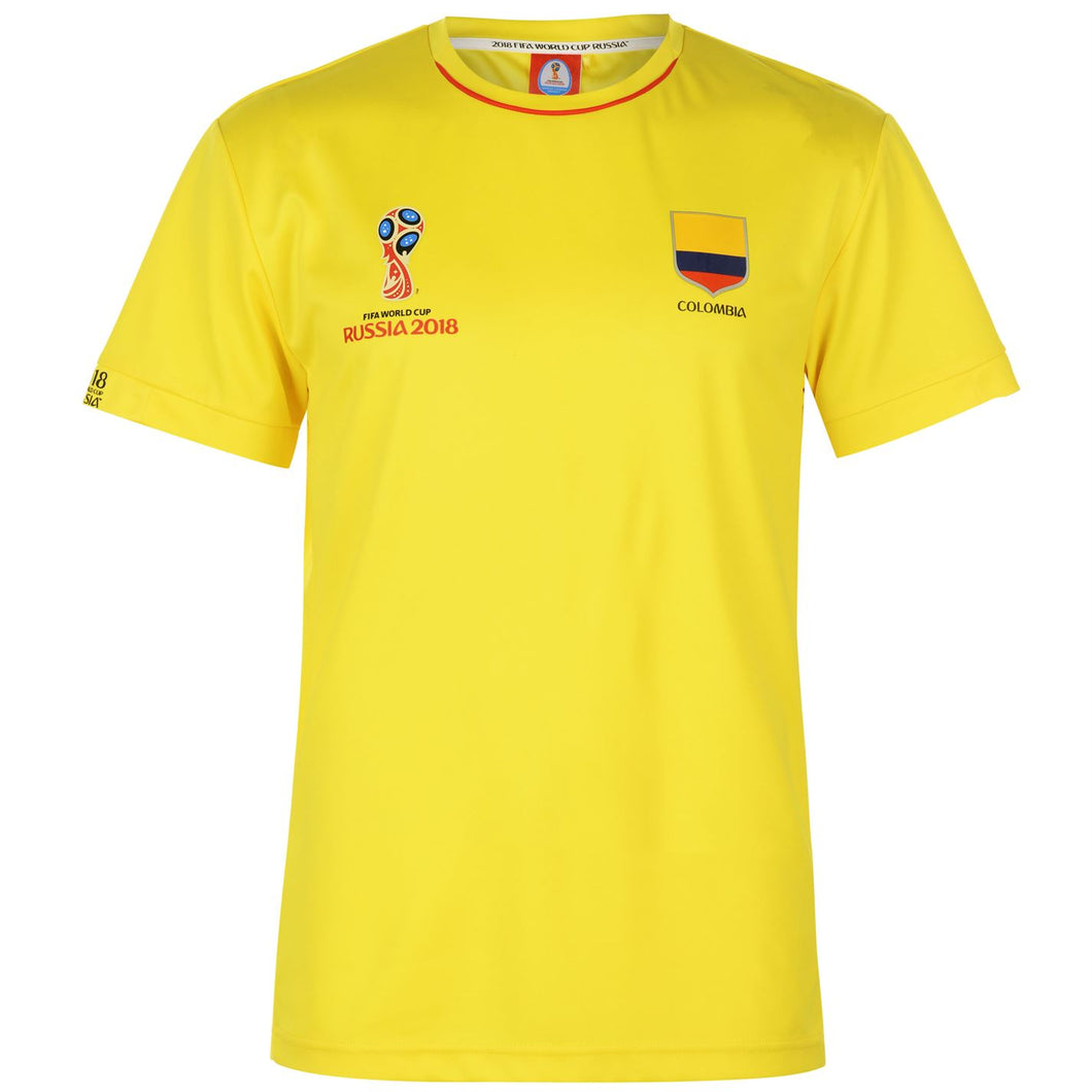 Mens Football T-shirt Colombia