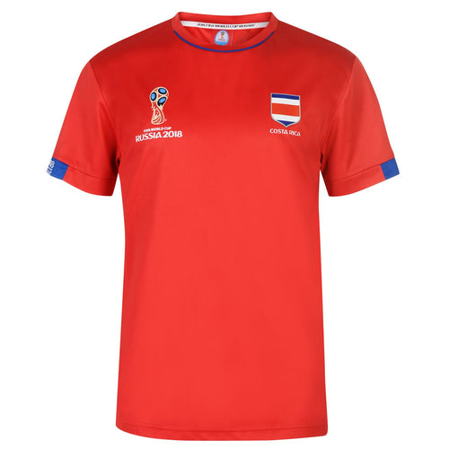 Mens Football T-shirt Costa Rica