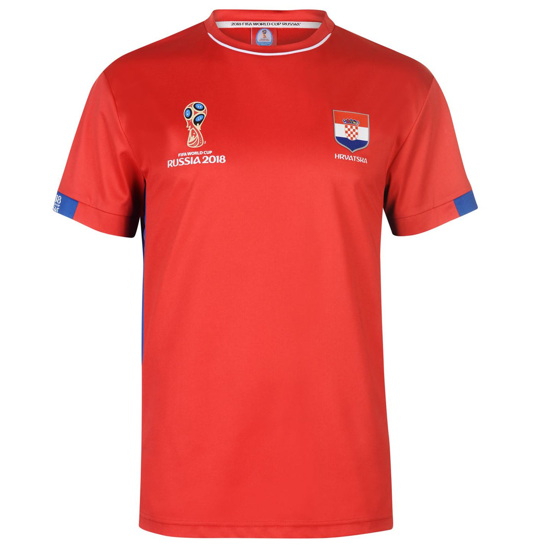 Mens Football T-shirt Croatia