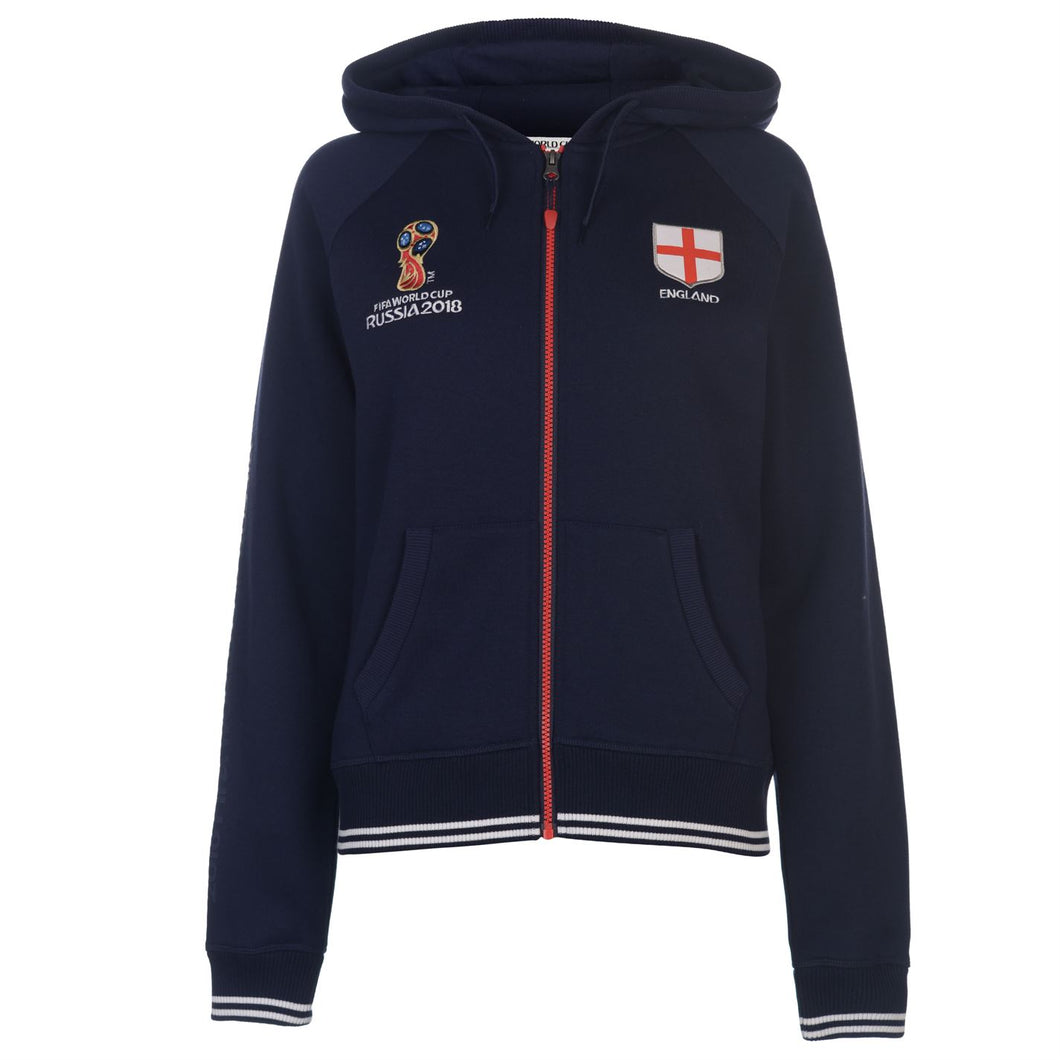 Womens Football Hoody England