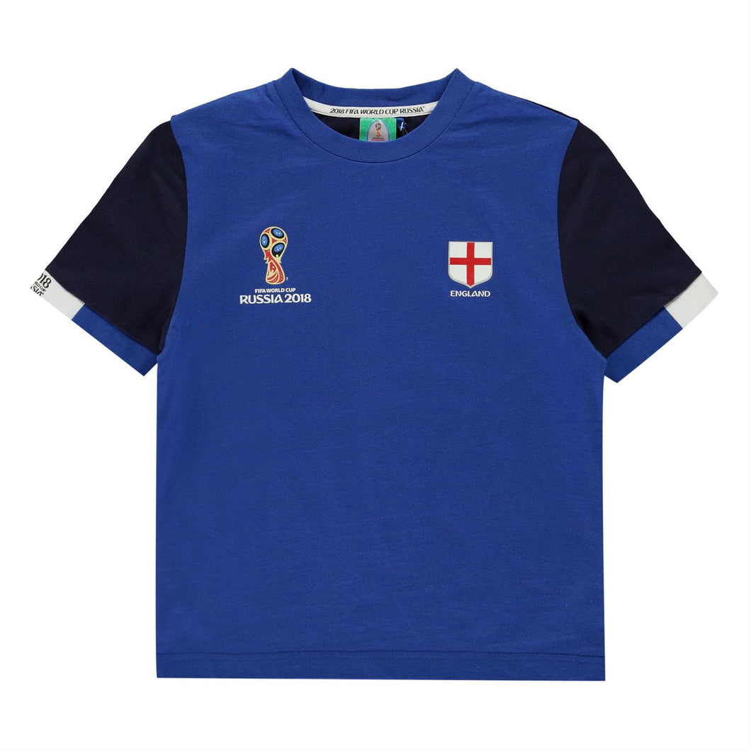 Kids Football T-shirt England