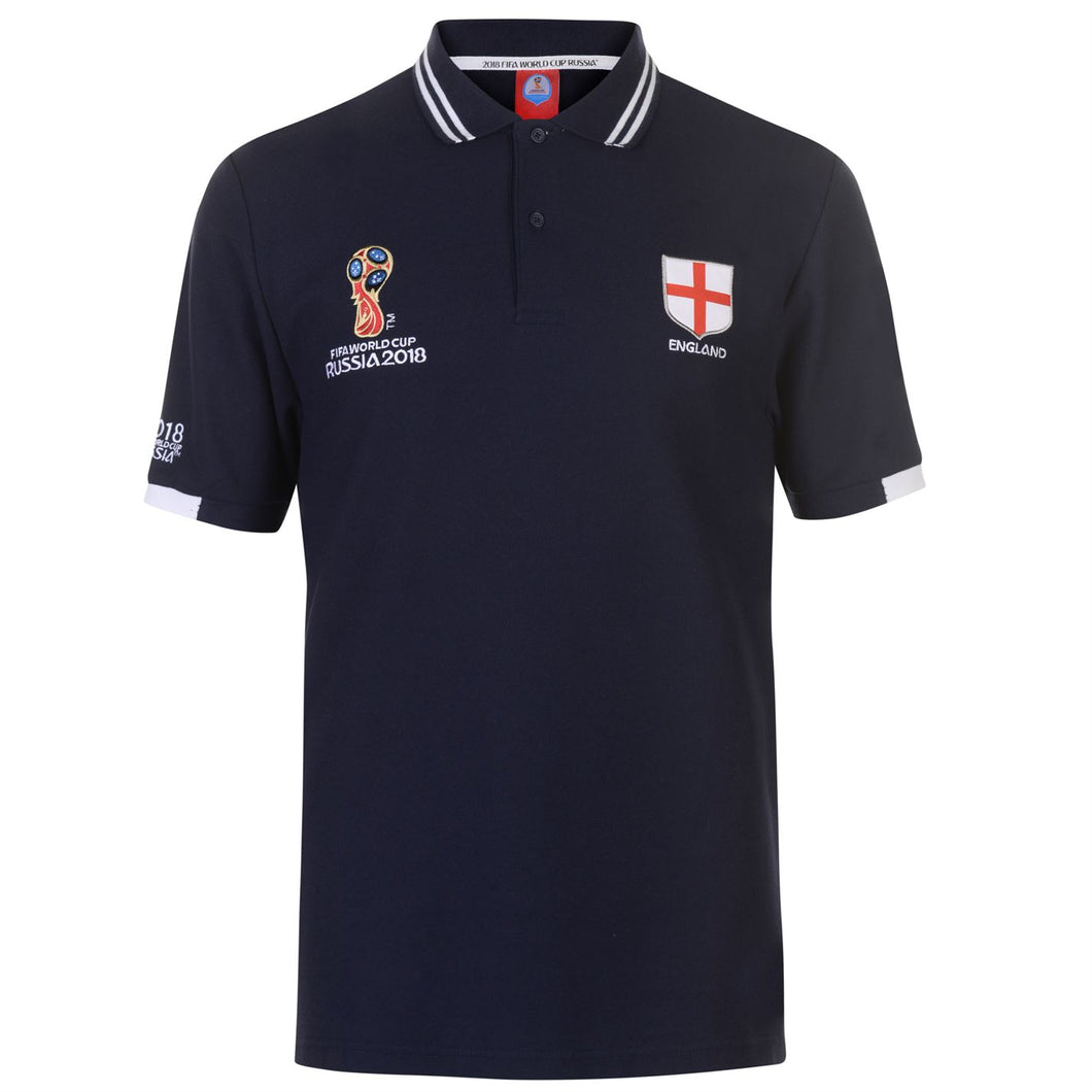 Mens Football Polo Shirt England