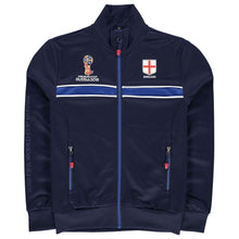 Kids Football Tracksuit Jacket England