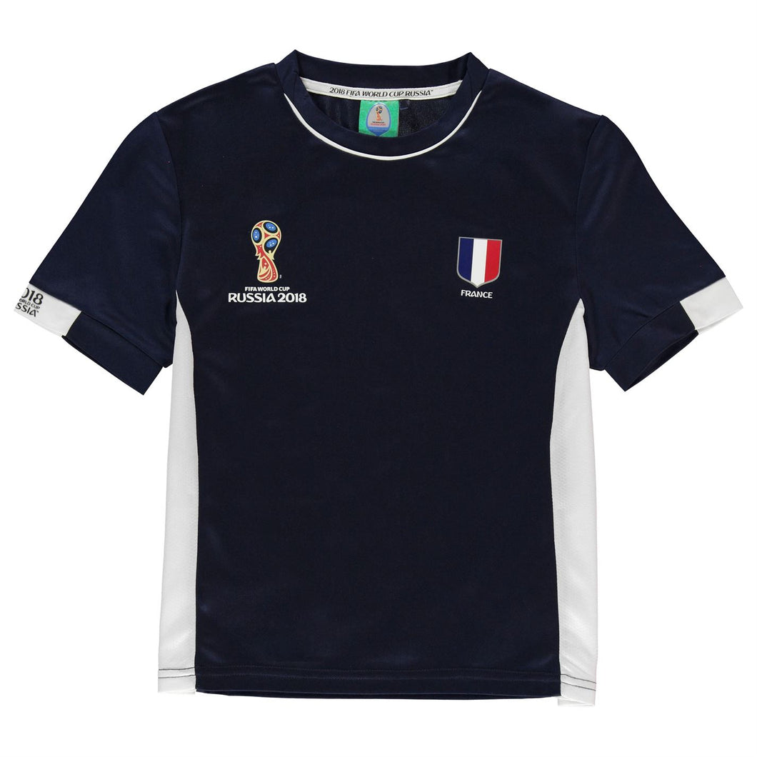 Kids Football T-shirt France