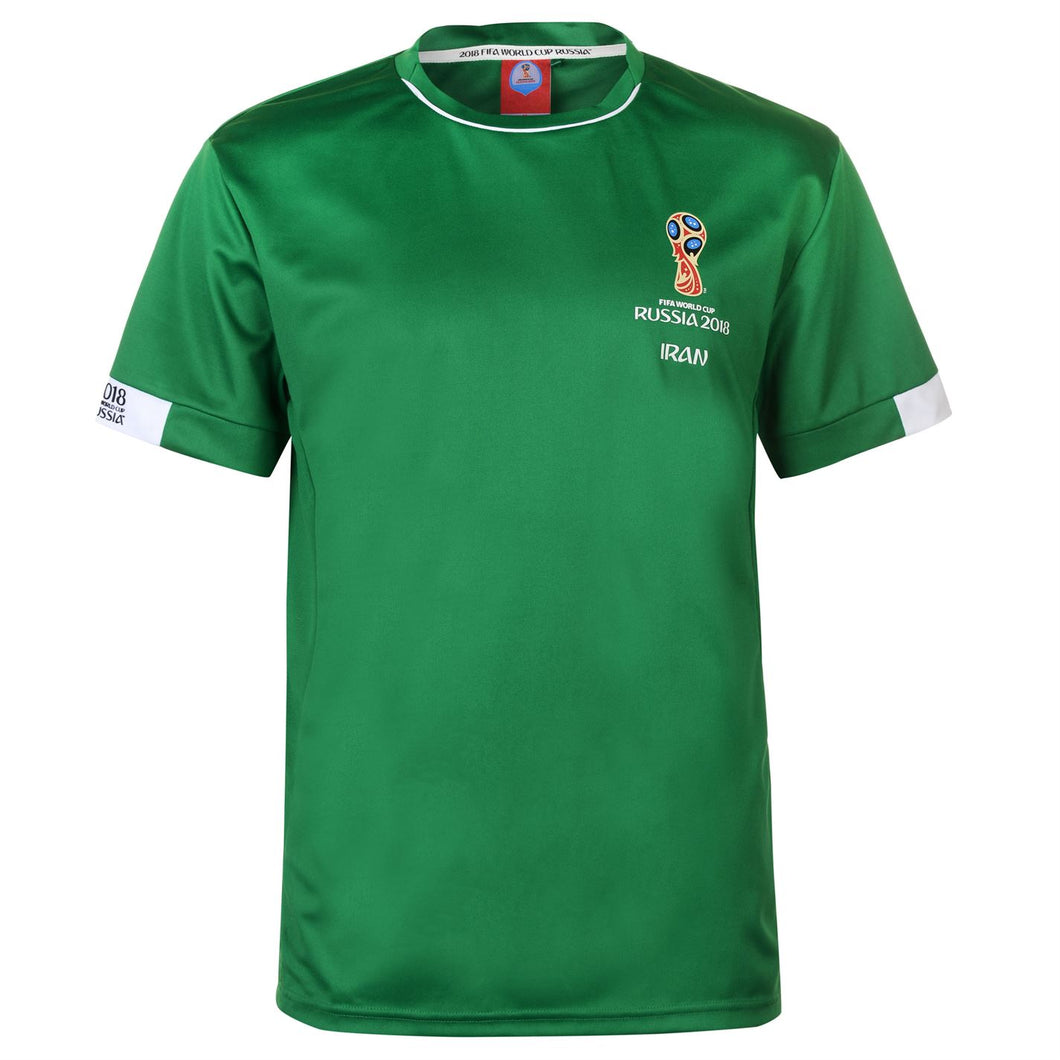 Mens Football T-shirt Iran