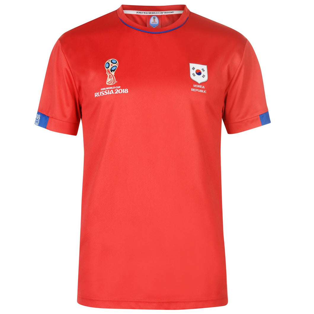Mens Football T-shirt South Korea