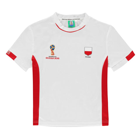 Kids Football T-shirt Poland