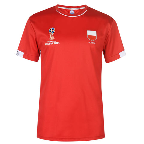 Mens Football T-shirt Poland