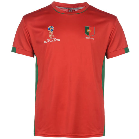 Mens Football T-shirt Portugal