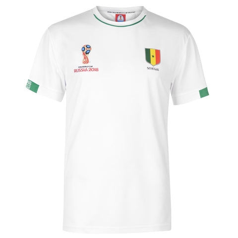 Mens Football T-shirt Senegal