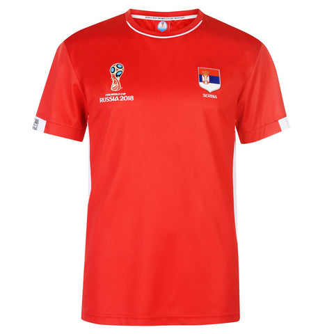 Mens Football T-shirt Serbia