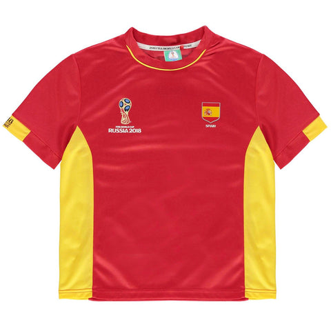 Kids Football T-shirt Spain