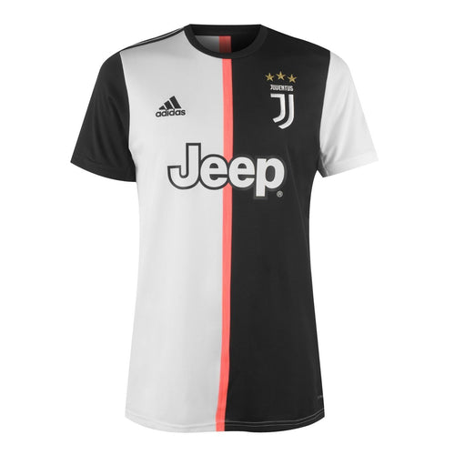 adidas Juventus Home Shirt 2019 2020 Mens Black/White