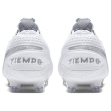 Nike Tiempo Legend Elite FG Football Boots Mens White/Silver