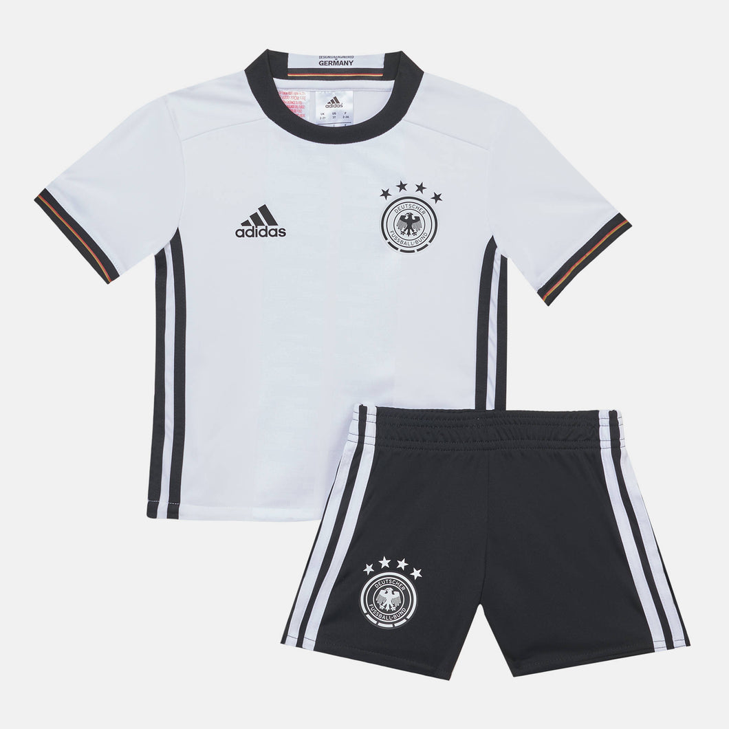 adidas Germany 2016 Home Mini Kit Infants White