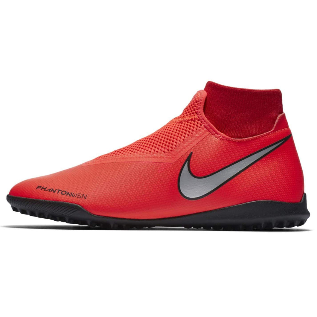 Nike Phantom Vision Academy DF Astro Turf Football Boots Mens Red/Silver