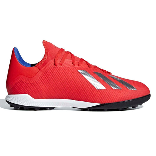 adidas X Tango 18.3 Astro Turf Football Boots Mens Red/Silver