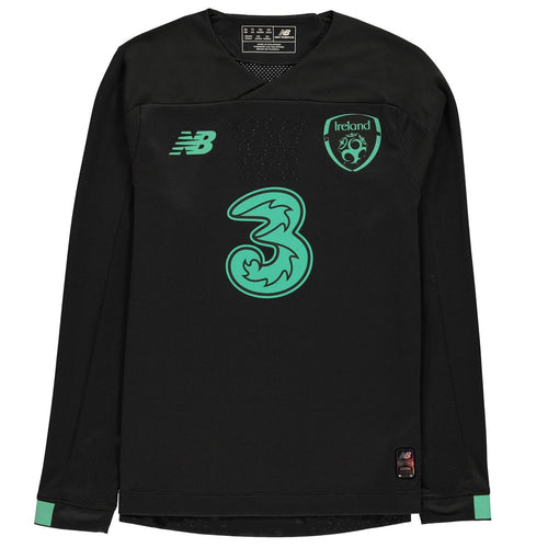 New Balance Ireland Away Goalkeeper Shirt Juniors Dark Grey