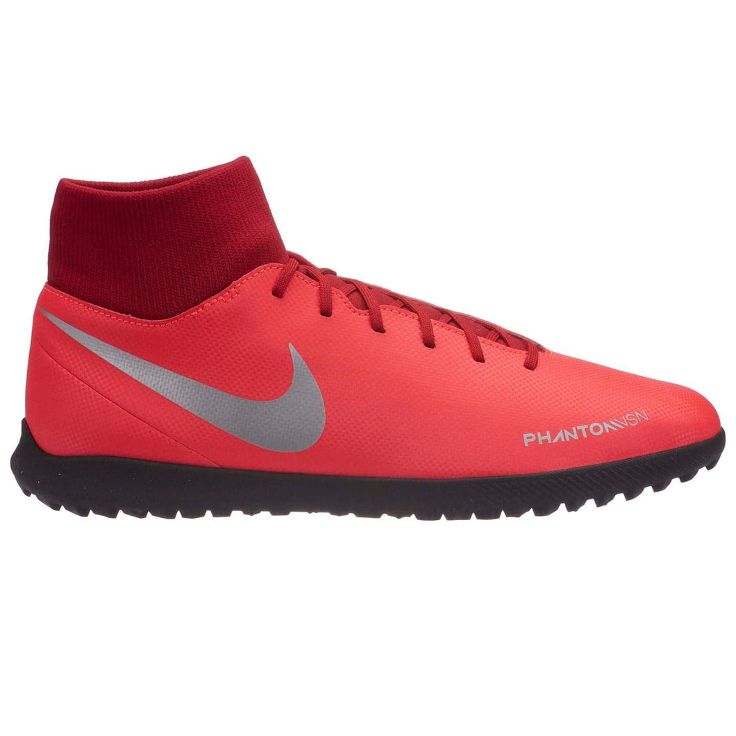 Nike Phantom Vision Club DF Astro Turf Football Boots Mens Red/Silver
