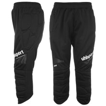 Uhlsport Three Quarter Goalkeeper Trousers Mens Black