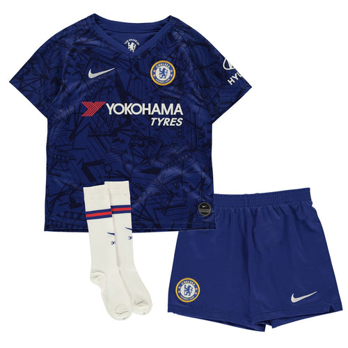 Nike Chelsea Home Mini Kit 2019 2020 Juniors Blue/White